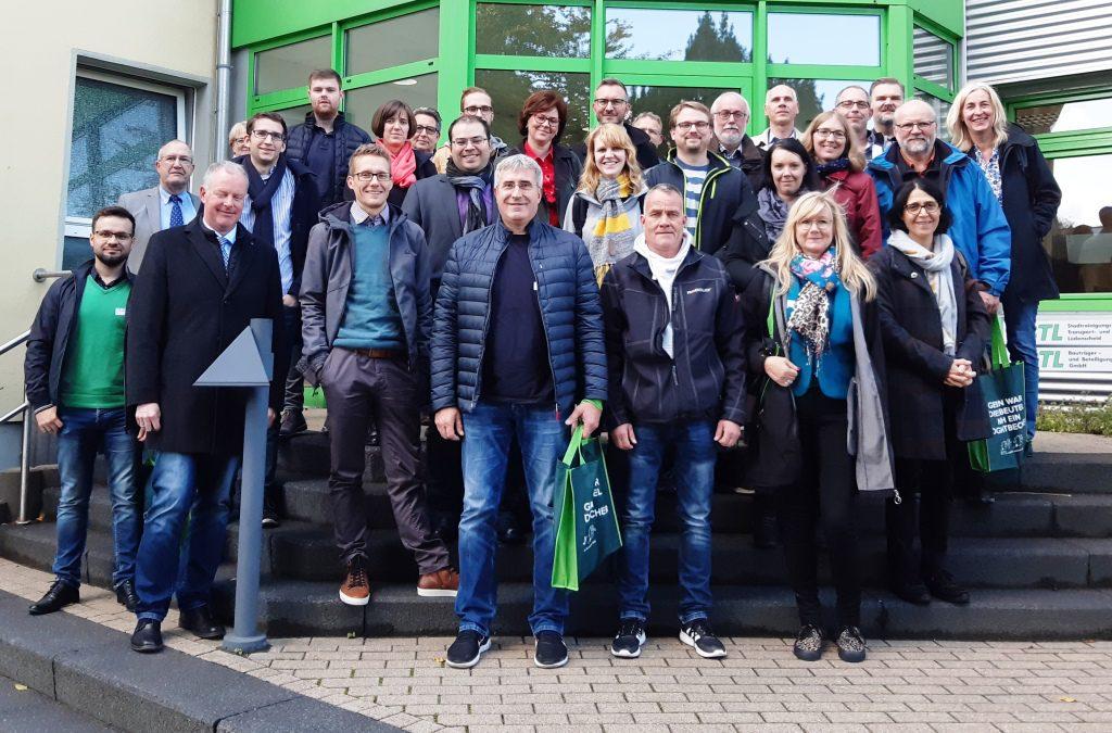Unternehmer zu Gast bei STL in Lüdenscheid