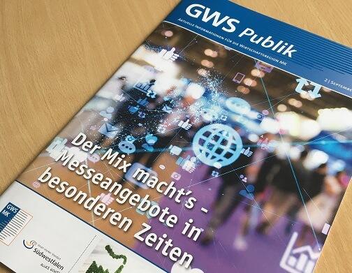 Druckfrisch: Die neue Ausgabe der GWS-Publik