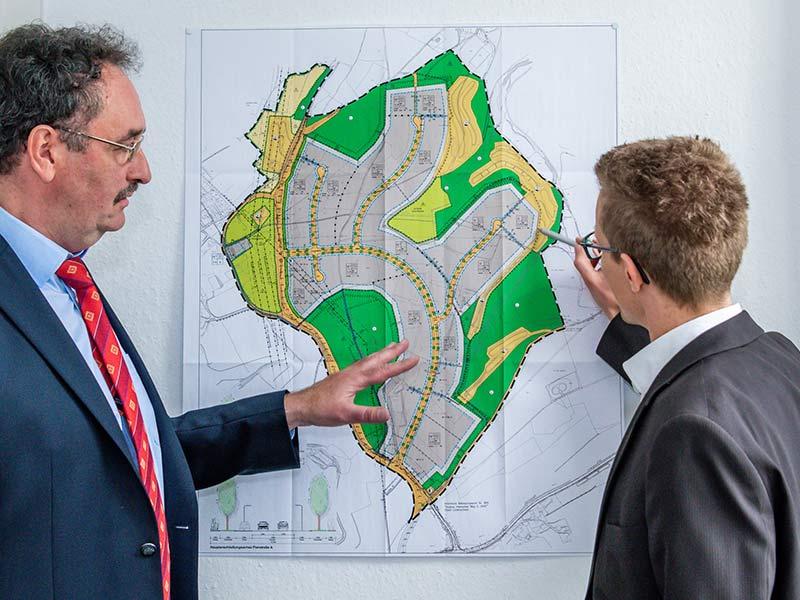 Die GWS engagiert sich bei der Entwicklung und Vermarktung interkommunaler Flächenprojekte der Städte Kierspe und Meinerzhagen sowie Altena, Lüdenscheid und Werdohl.