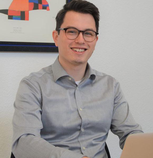 David Bohlen ist Projektassistent bei der GWS