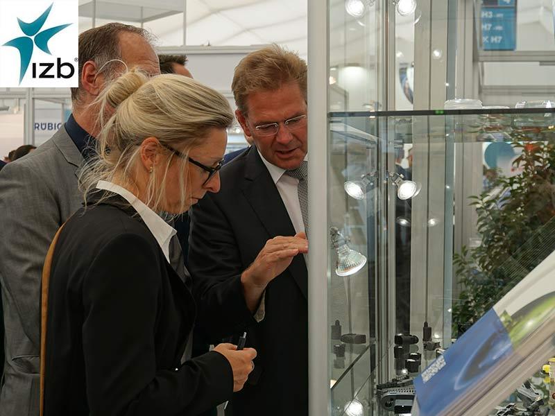 Die GWS bietet seit mehr als zehn Jahren erfolgreich Firmengemeinschaftsstände auf Industrie-Fachmessen wie der IZB an.