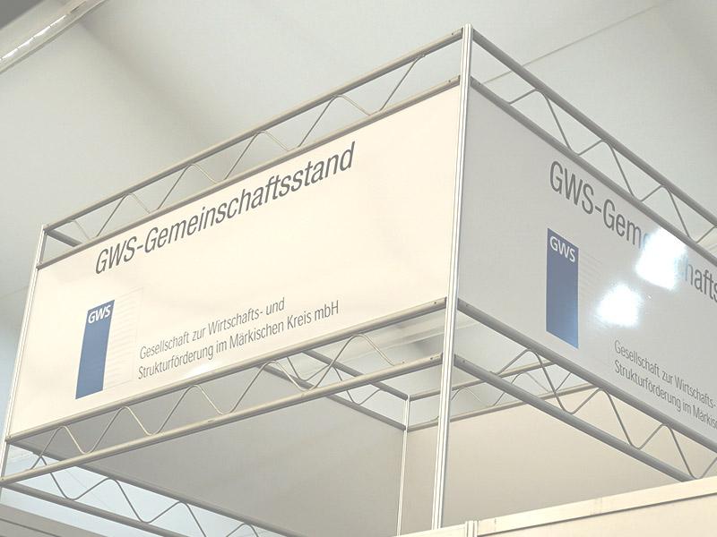 Die GWS bietet Gemeinschaftsstände und Messeorganisation auf Industrie-Fachmessen wie der Blechexpo an.